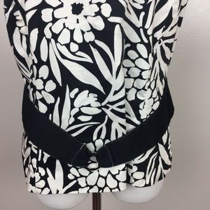 Dorby Tops - Dorby Black & White Floral Print Sleeveless Top 12